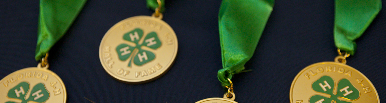 4-H hall of fame medals