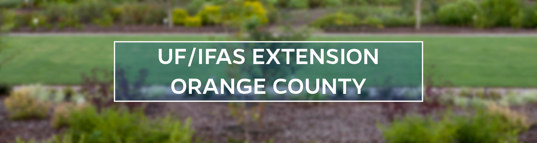 UF/IFAS Extension Orange County