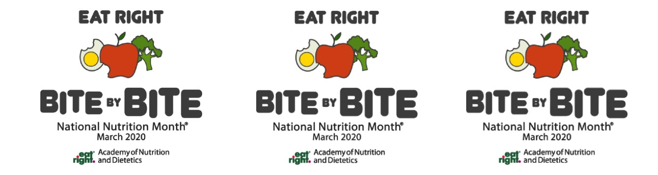 National Nutrition Month theme 2020