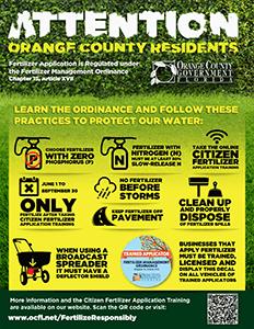 Fertilizer ordinance poster