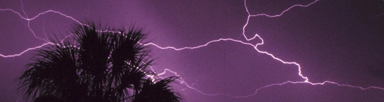 lightning skies