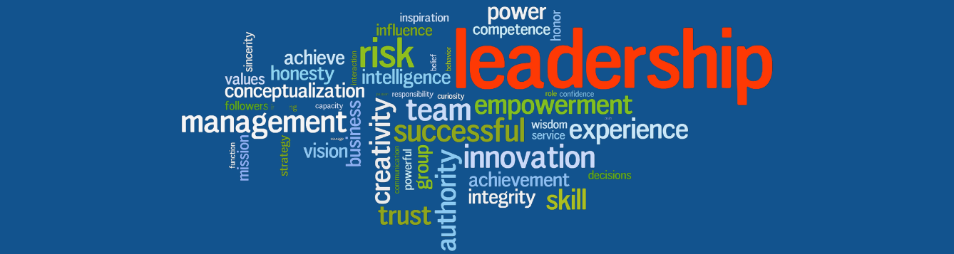 Leadership wordle