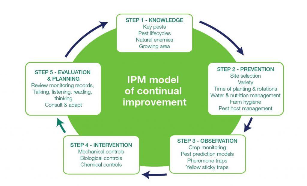 integrated pest management flow chart