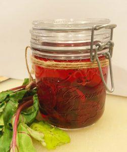 Pickled Beets Jar
