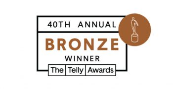 bronze telly winner logo