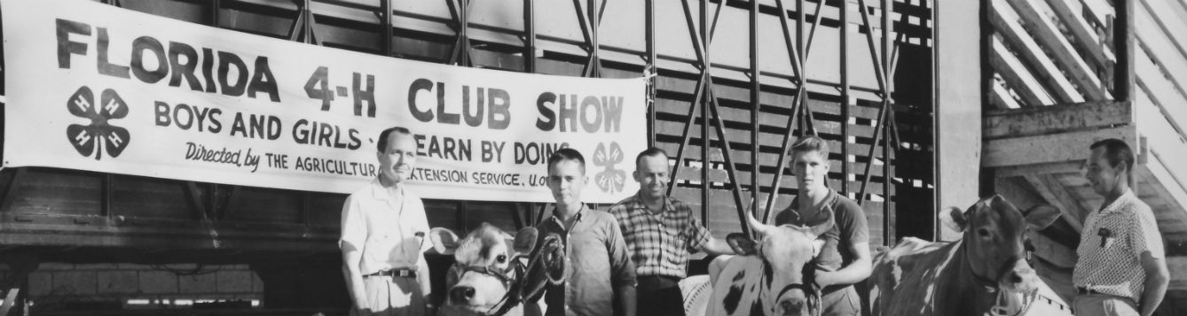 4-H in Florida, Club Show. Source: Smather's Archives.
