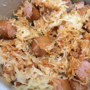 Polish Sausage Sauerkraut