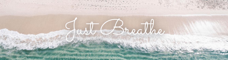 crashing waves on a beach