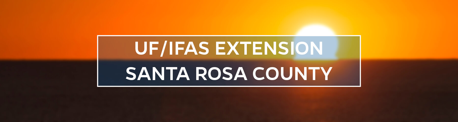 UF/IFAS Extension Santa Rosa County