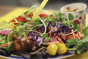 Microgreen salad [CREDIT: Robert Annis, UF/IFAS]