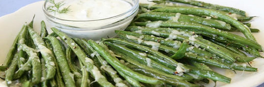 Parmesan Roasted Florida Snap Beans