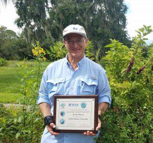 Derek Wiberg with FMNP certificate