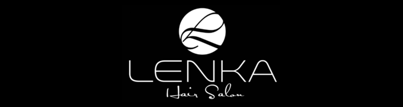 Lenka hair salon logo