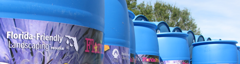 rain barrel stockpile in inventory