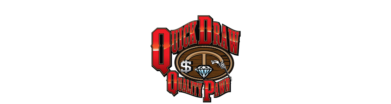 Quick Draw pawn shop logo