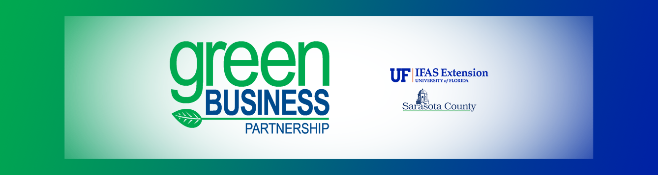 Sarasota County Extension Green Business Partnership banner