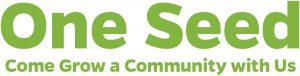 """One Seed"" program banner"