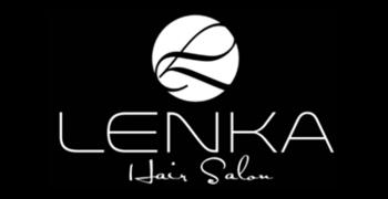 Lenka hair salon logo