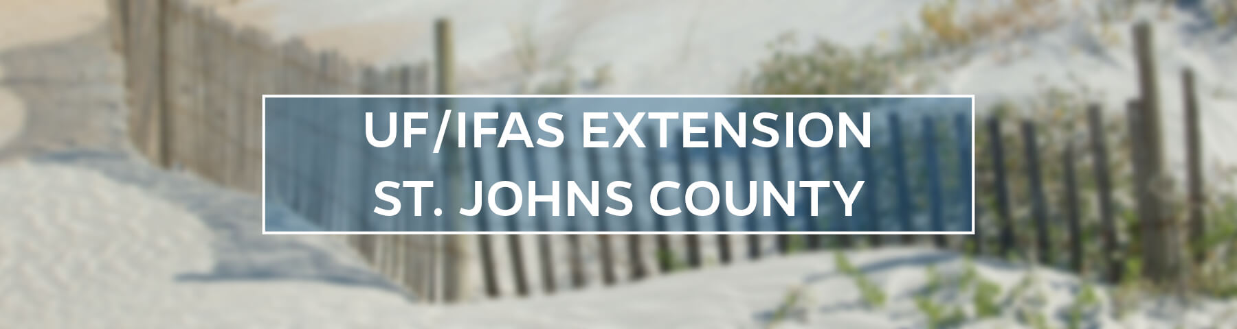 UF/IFAS Extension St. Johns County