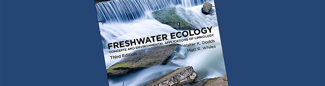 textbook cover Freshwater Ecology