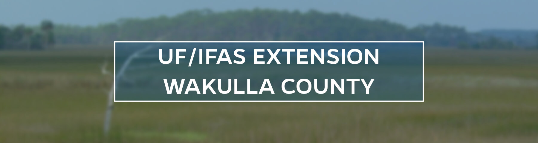 UF/IFAS Extension Wakulla County