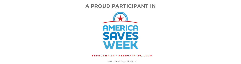 America Saves Week Announcement Feb 24-29th 2020