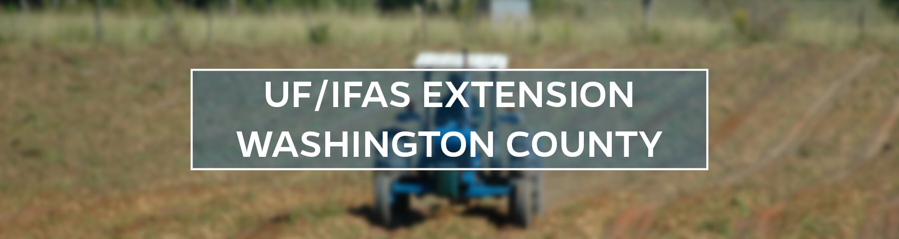 UF/IFAS Extension Washington County