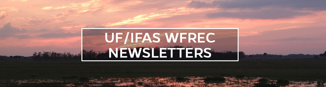University of Florida West Florida Research and Education Center - Wildlife picture - Newsletters